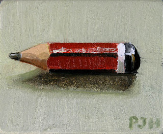 Little Red Pencil Stub
