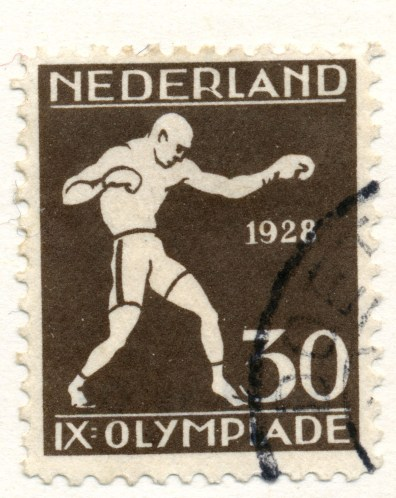 1928-Summer-Olympic-Games-Boxing-Post-Stamp