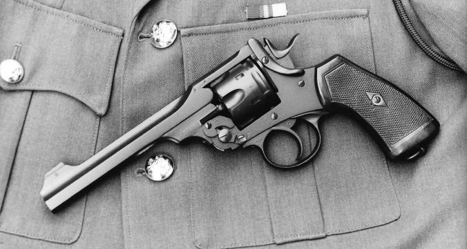 Webley-revolver