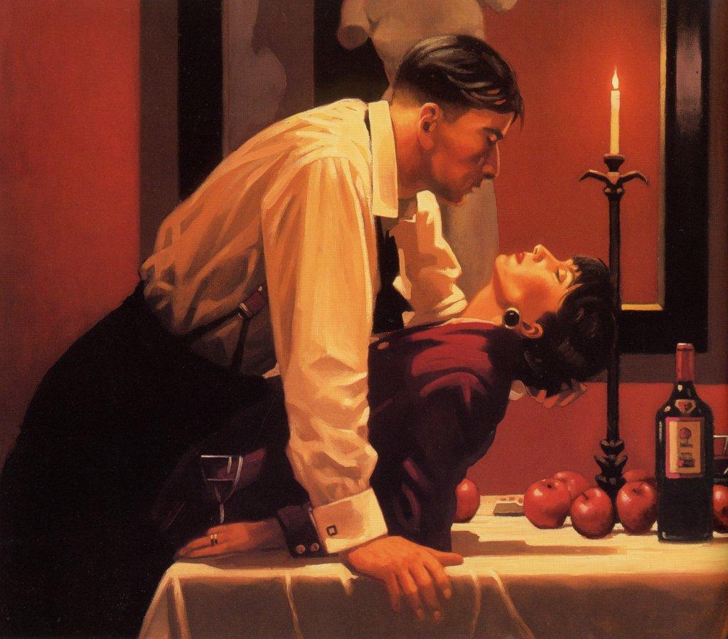 Jack Vettriano Painting 95