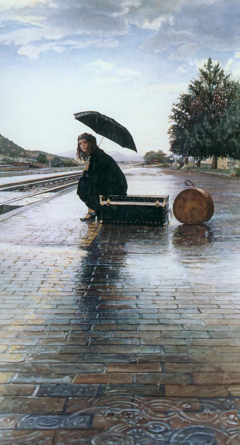 Steve-Hanks-Waiting-for-the-Train
