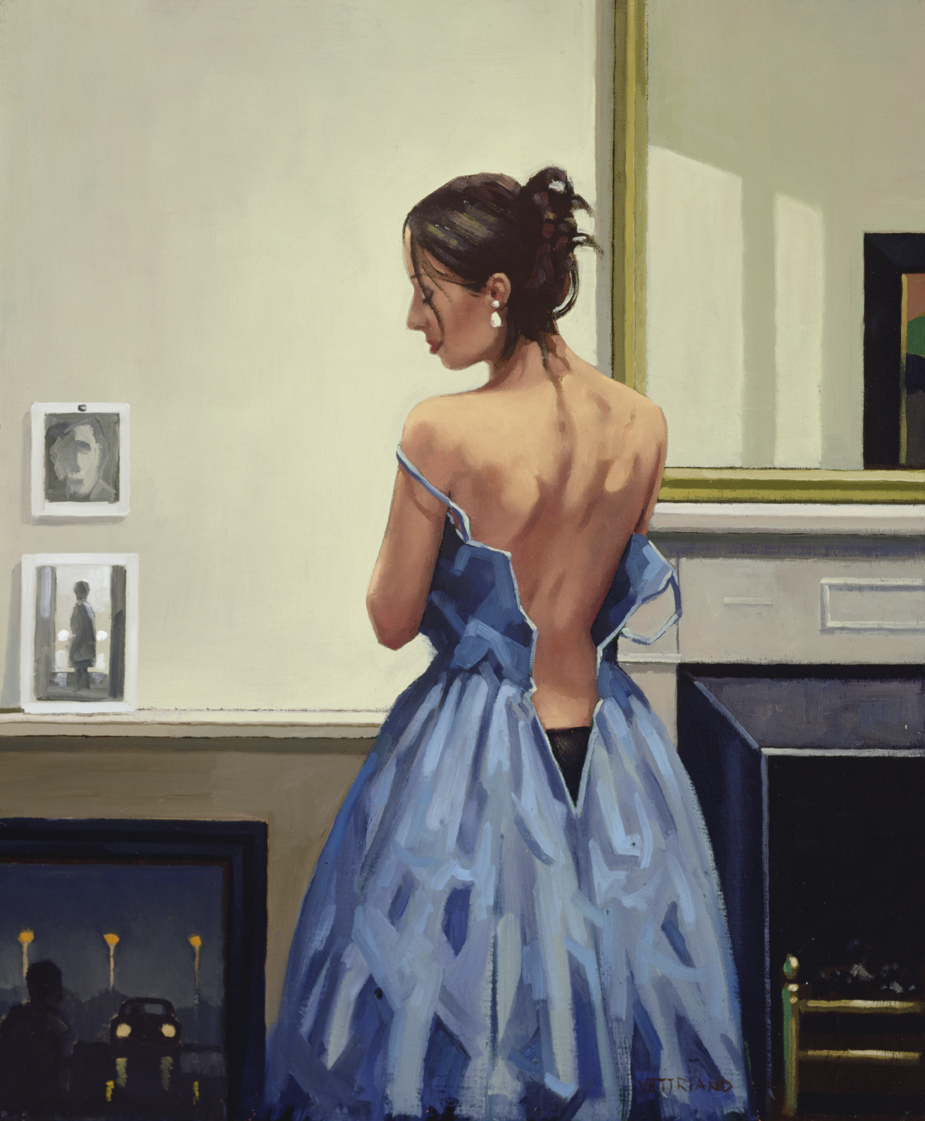 the_blue_gown_jack_vettriano