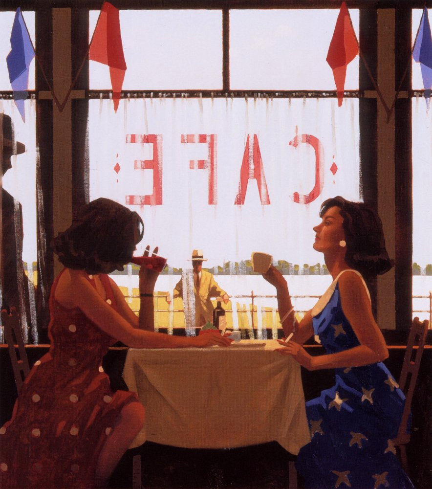 Jack Vettriano Painting 31